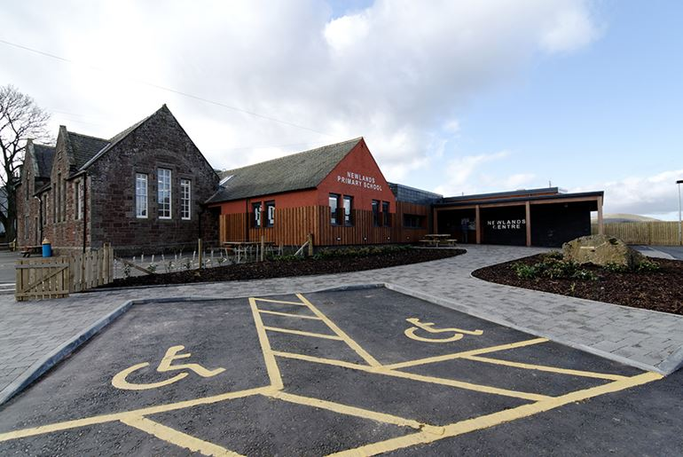Newlands Primary School & Community Care, West Linton
