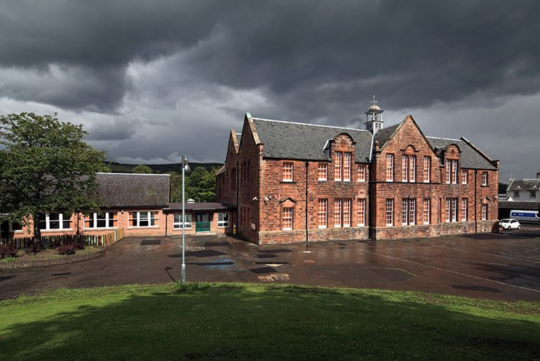 Kingsland Halyrude Primary School, Peebles