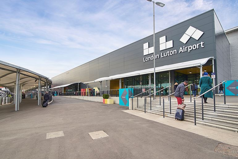 Project Curium London Luton Airport