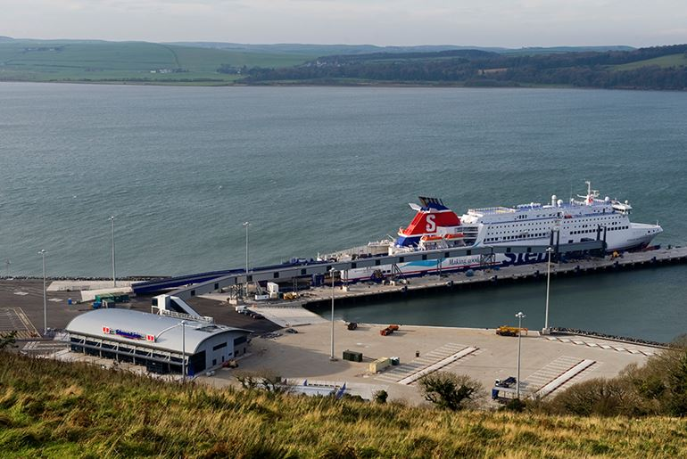 Loch Ryan Terminal & Port Development, Cairnryan