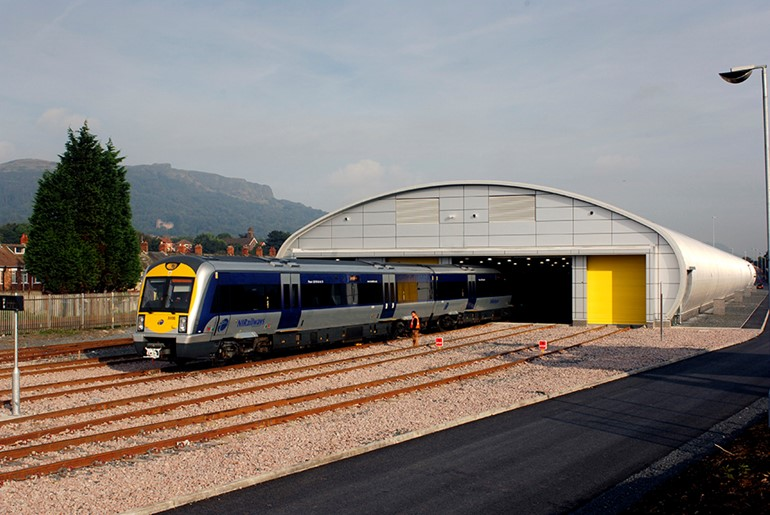 Train Cleaning Facility, Belfast