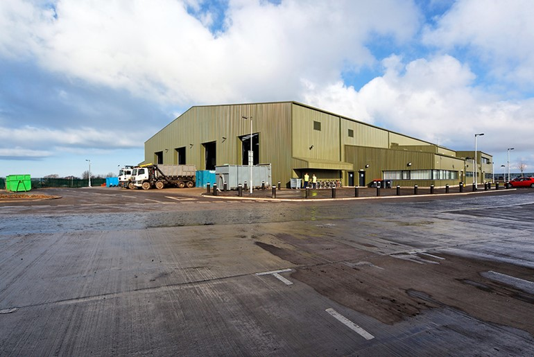 Kinwegar Recycling Centre & Waste Transfer Station, Wallyford