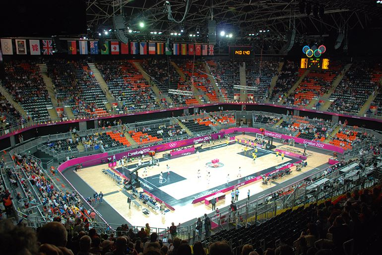 London 2012 Olympic Basketball Arena