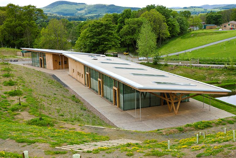 Glentress Visitor Centre, Peebles