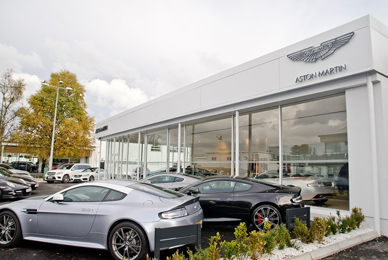 Charles Hurst Bentley & Aston Martin Showroom, Belfast
