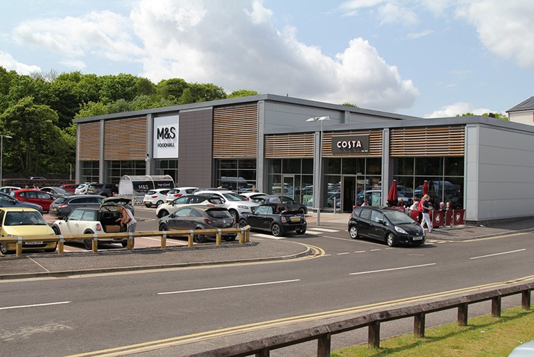 Mixed Retail Development, Uddingston