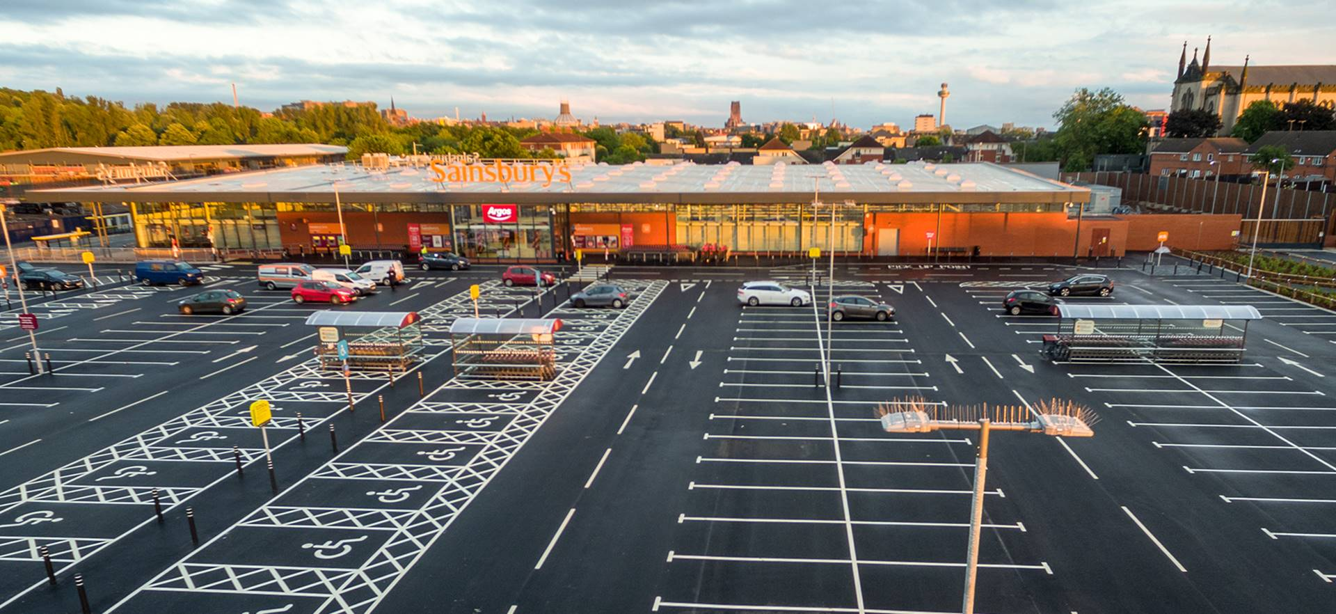 Sainsbury's Foodstore and Retail Block, Liverpool