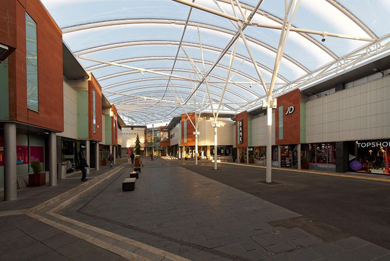 Ayr Central ETFE Roof, Ayr