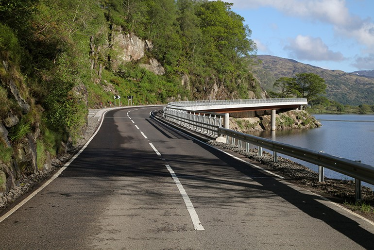 A82 Pulpit Rock, Loch Lomond
