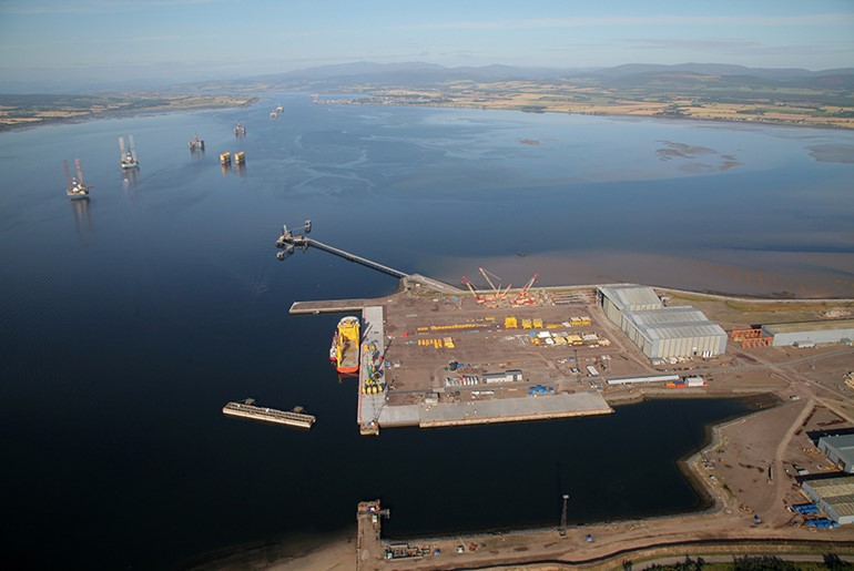 Nigg South Quay Redevelopment, Cromarty Firth
