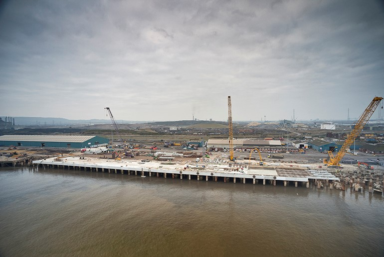 PD Ports Teesport Berth 1 Phases 1 to 3, Middlesbrough