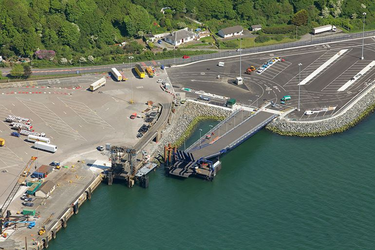 Cairnryan Berth 1 Linkspan Replacement