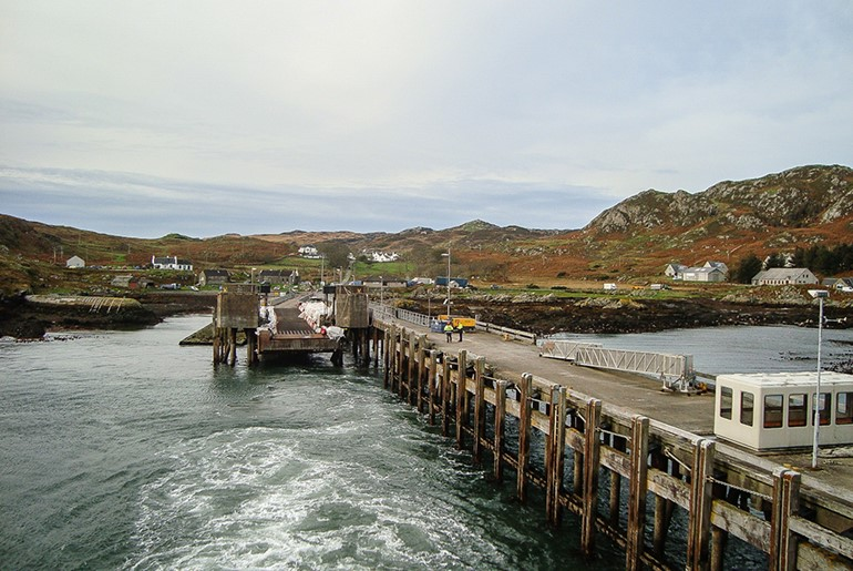 Colonsay Linkspan Refurbishment