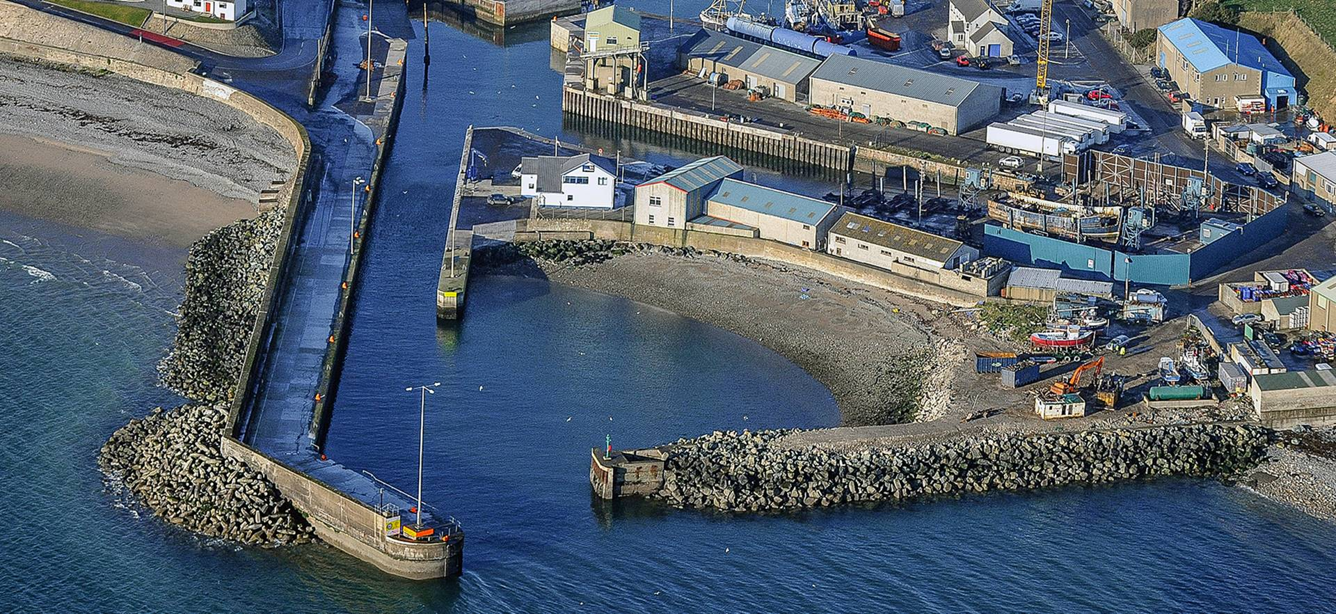 Kilkeel Quay Wall Repairs