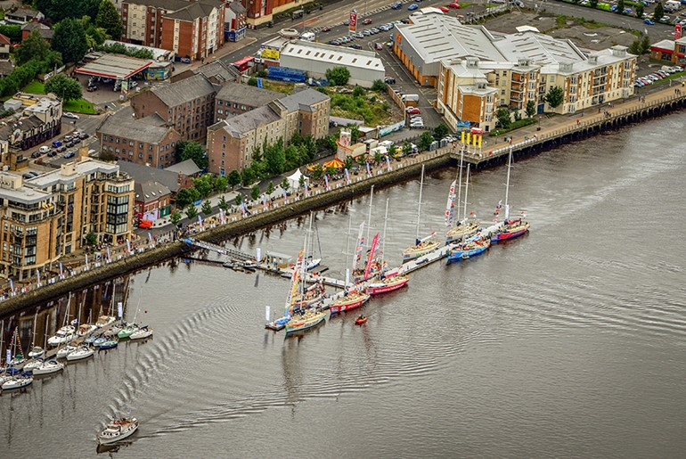 Foyle City Centre Mooring Facility, Londonderry
