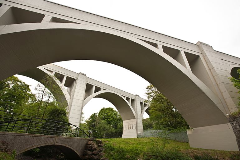 Three Mile Water Viaduct Concrete Repairs