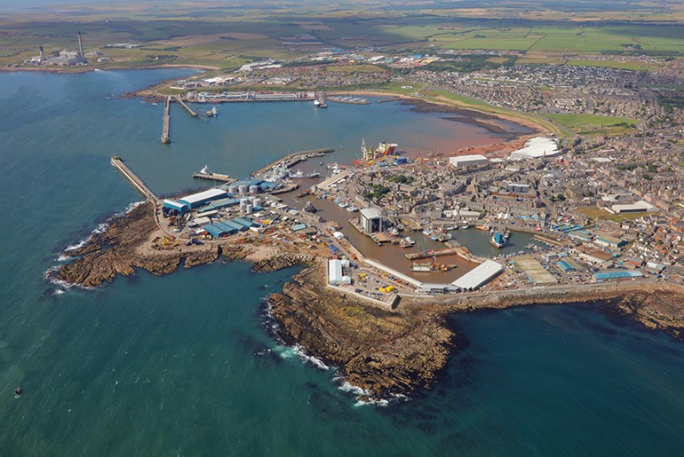 Peterhead Harbour Deepening