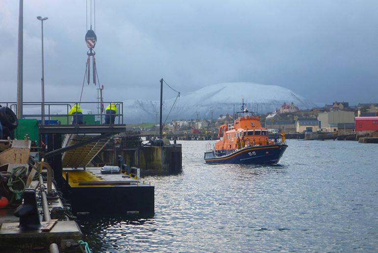 RNLI Pontoon, Stromness