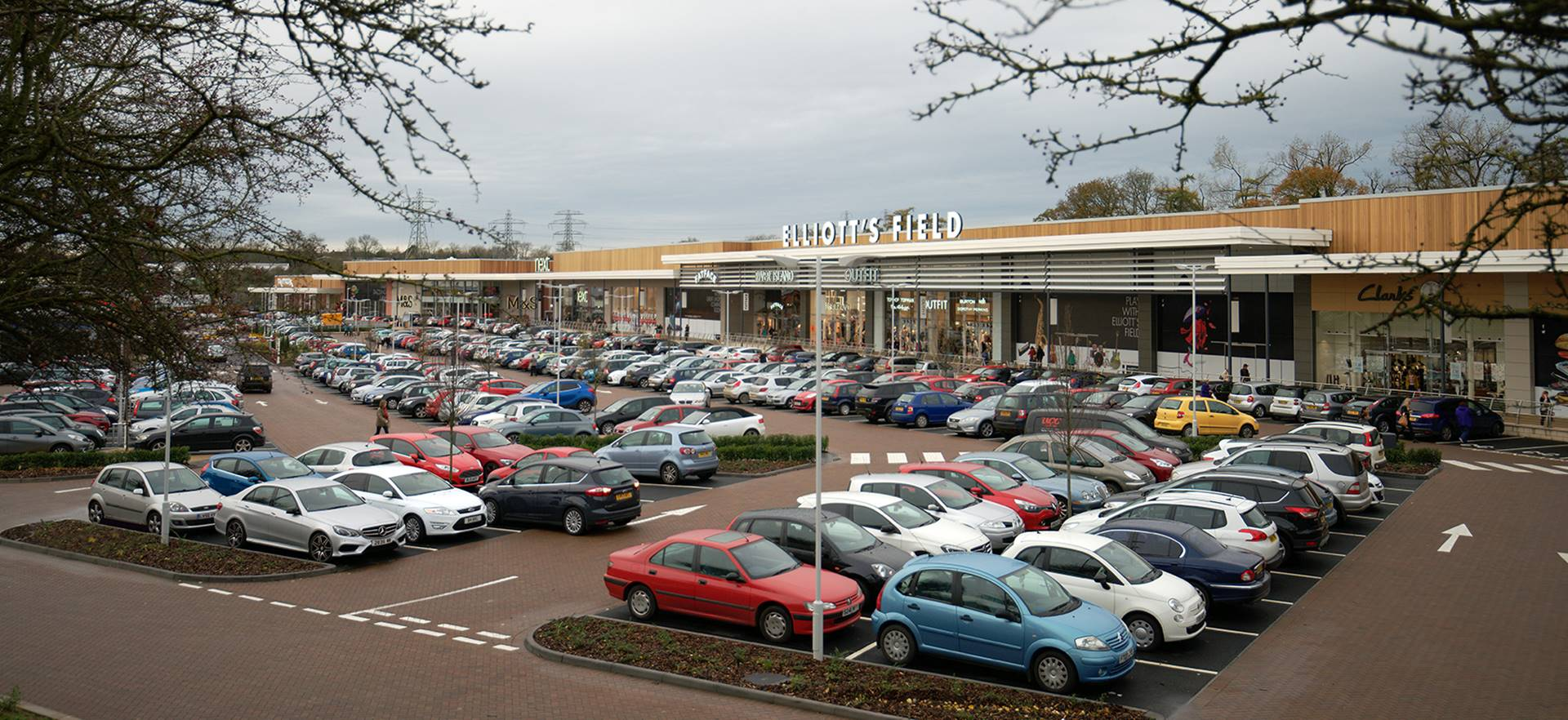Elliott's Field Shopping Park, Rugby