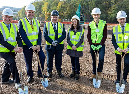Ground broken at Harlow Science Park