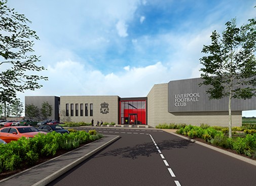 Redevelopment of Liverpool Football Club's Academy awarded