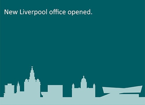 New Liverpool office opened