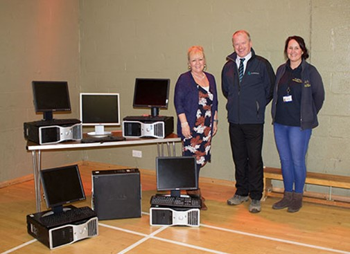 McL&H donate PCs to local community centre