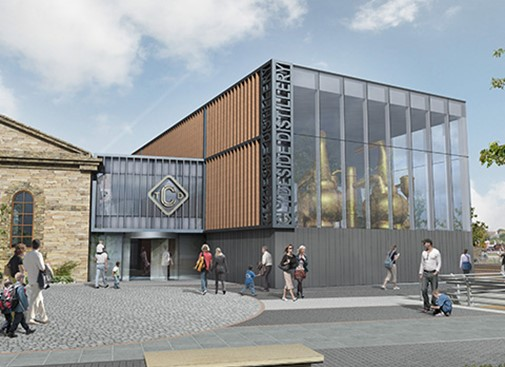 Building starts at The Clydeside Distillery