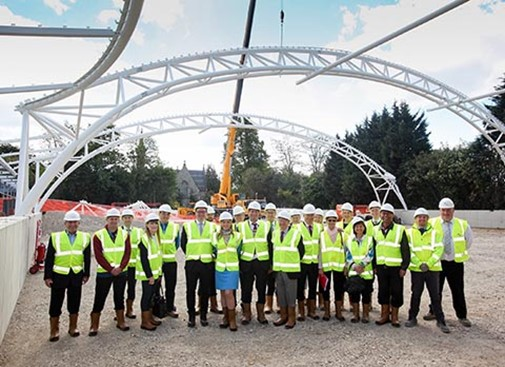 McL&H serve up steelwork at Chandos Tennis Club