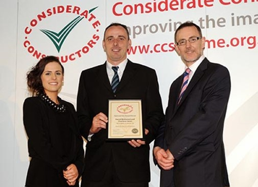 Awarded CCS Most Considerate Site: Runner-up