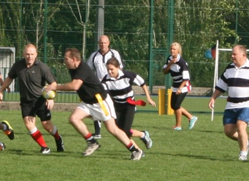 Charity Tag Rugby Event huge success