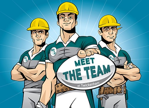 It's not too late to register for Meet the Team at Twickenham