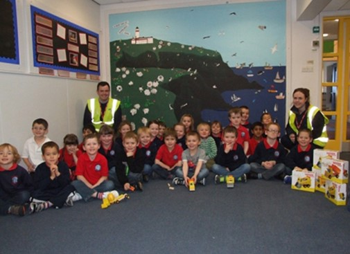 Dunrossness Primary School welcomes McL&H