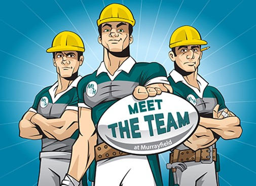 There's still time to register for Meet the Team at Murrayfield!