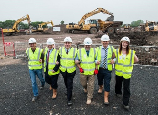 Construction begins on Ayrshire College