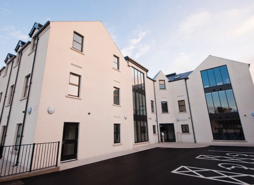 Triangle Housing Association offices handed over