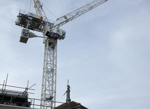 Tower Crane Erected at King's College Hospital