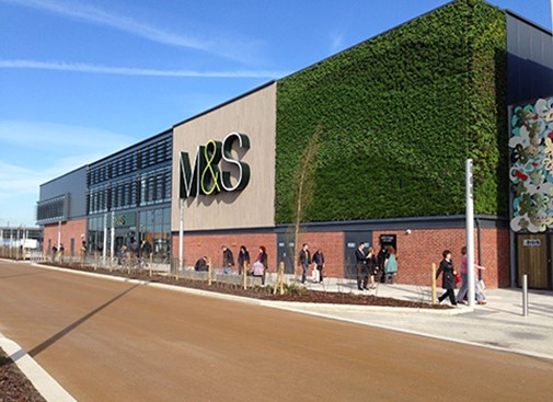 M&S sustainable learning store completed