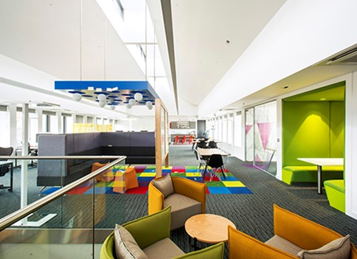 Deloitte fit-out works completed
