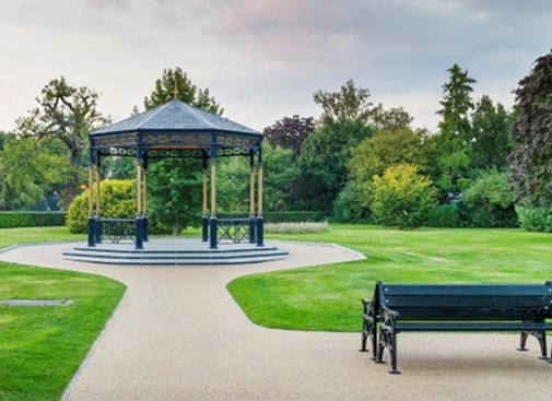 Woking Bandstand successfully relocated