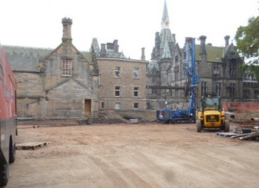 Work commences on Fettes College