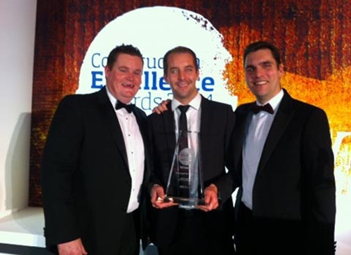 Double win at CEF Constructing Excellence Awards