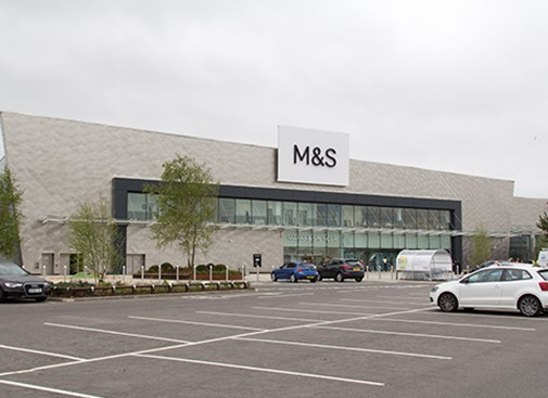 M&S Glasgow Fort completed