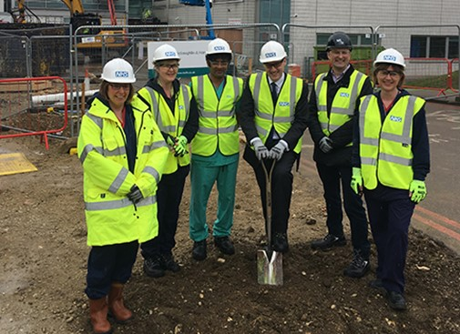 Work starts at John Radcliffe Hospital Emergency Department expansion