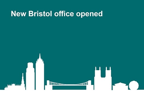 New Bristol office opened