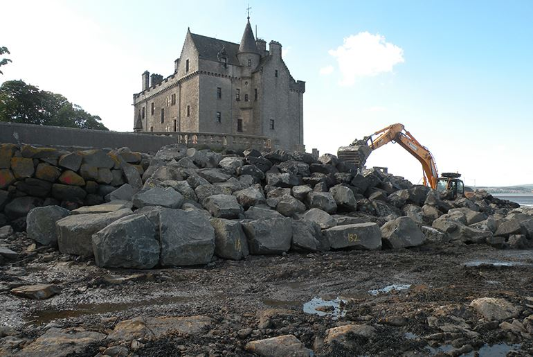 Barnbougle Castle, Edinburgh