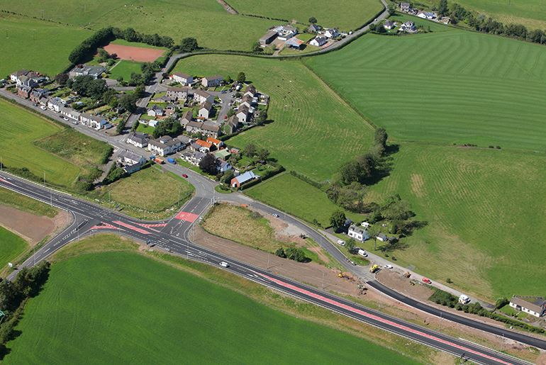 A75 Hardgrove to Kinmount Improvements