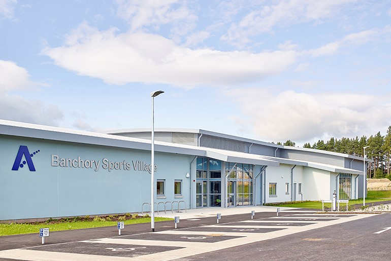 Banchory Community Sports & Swimming Pool Facility, Aberdeenshire