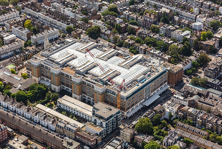 Chelsea and Westminster Hospital NICU and ICU Expansion, London