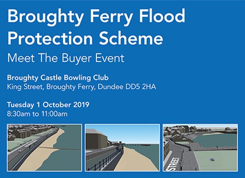 Want to work on our Broughty Ferry Flood Protection Scheme?